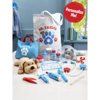 Melissa & Doug Personalized Examine and Treat Vet Medical Toy Set